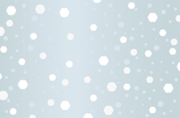 Japanese traditional pattern snowflake background