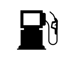 gas station oil refinery industry industrial business company image vector icon logo symbol