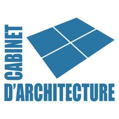 Logo cabinet d'architecture.