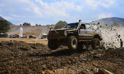 big horsepower, mud and adventure