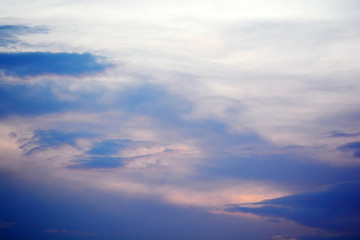Beautiful sky with cloud background