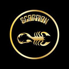 scorpion vector logo