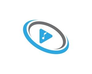 play logo vector icon