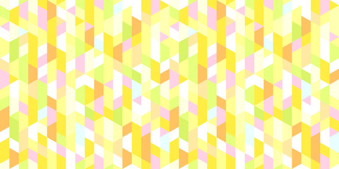 Polygonal texture. Seamless grid pattern. Colorful wallpaper of the surface. Bright tile background. Print for polygraphy, posters, t-shirts and textiles. Unique doodle for design