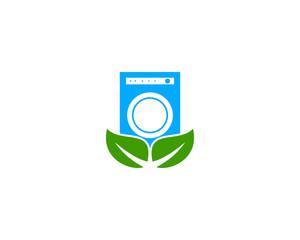 eco clean washing machine logo