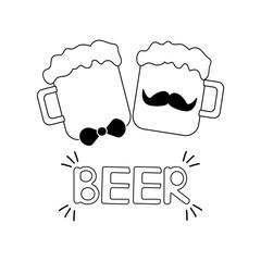 Beer poster.