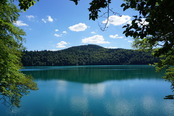 Reflet sur le Lac Pavin