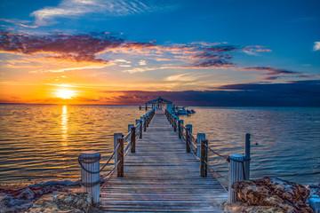 Islamorada Florida Keys Dock Pier Sunrise