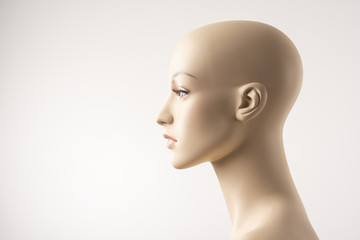 Female Mannequin Face Profile
