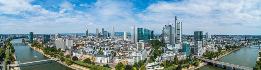 Luftbild Frankfurt am Main Innenstadt Fototapete