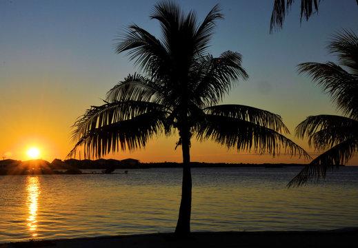 Marathon Sunset / View from Marathon in the Florida Keys.