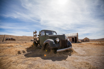 Pickuptruck in ghost town bodie