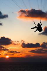 Sunset Gliding
