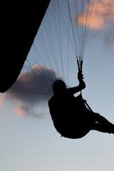 Paraglider Silhouette