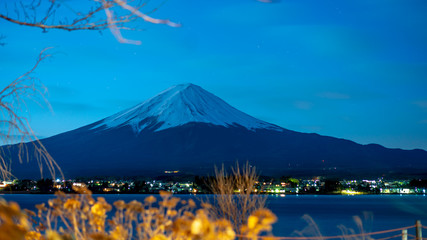 Fuji Mountain Scenery ; Japan, January 18, 2018