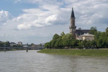 Salzach River Austria