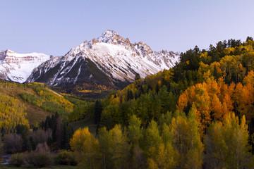 Autumn in the Rocky Mountains Evening Sun Colorado