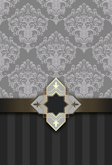 Wall Mural - Decorative vintage background.