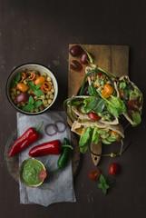 Pitta vegan veggie