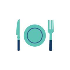 Food Party Logo Icon Design
