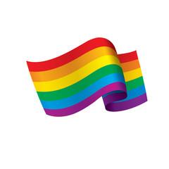 Vector a rainbow flag