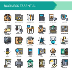 Business Essential , Thin Line and Pixel Perfect Icons.