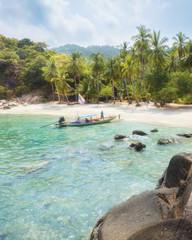 Wall Mural - Asian tropical beach paradise in Thailand