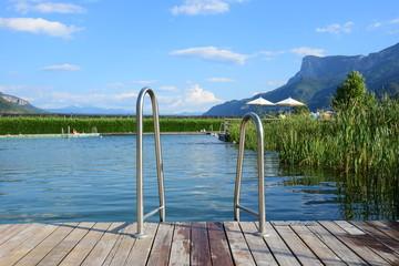Schwimmteich in Südtirol, Naturbad