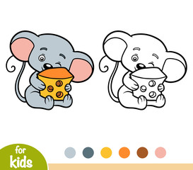 Coloring book, Mouse