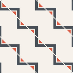 Abstract seamless pattern of triangles.