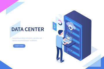 data center Fototapete