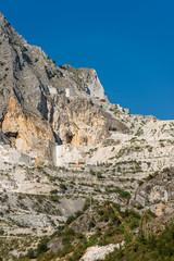 Apuan Alps - White Marble Quarries of Carrara