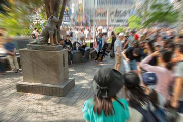 渋谷ハチ公像界隈
