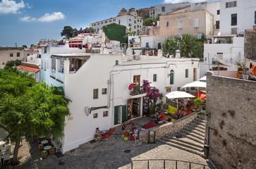 Treppe Portal Nous zur Festung Ibiza-Stadt