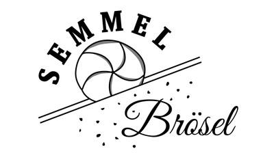 Semmelbrösel Logo mit Kaisersemmel