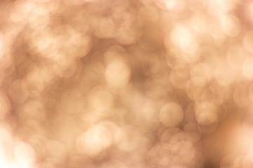 Abstract Blurred brown White bokeh background.