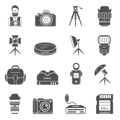 Black Icons - Photography Equipment