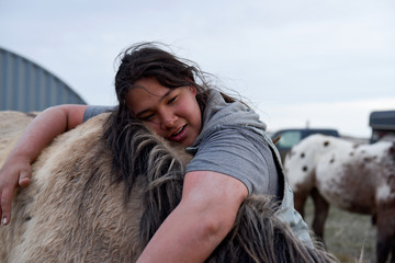 The Wider Image: Riding with Native Americans to mark pact anniversary