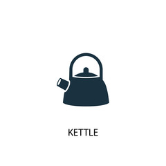 Kettle creative icon. Simple element illustration