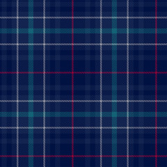 Plaid seamless pattern. Vector background