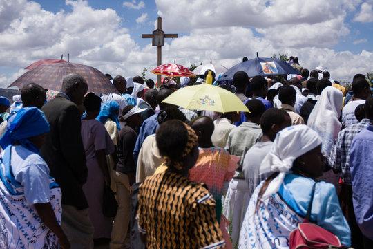 African Christian Mass in Kenya