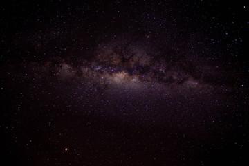 Spoed Foto op Canvas Heelal Milkyway in night sky.