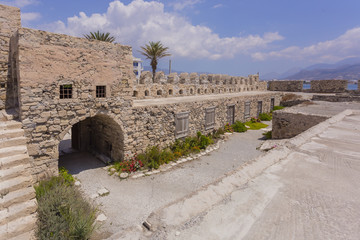 Intérieur de la Forteresse Kales à Ierapetra en Grète - Grèce