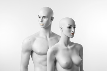 White Mannequins