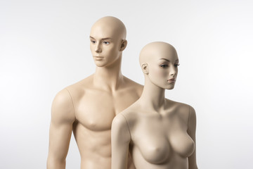 Male and Female Mannequins