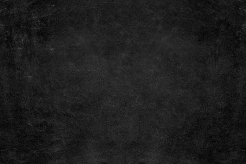 Blank school blackboard / chalkboard background. Copy space.