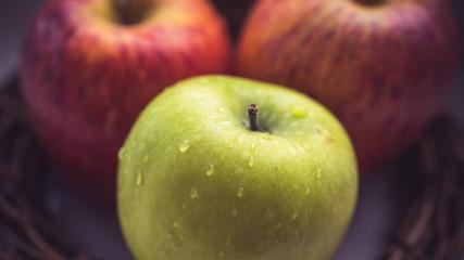 Apple harvest, Oktoberfest. Apple spas, apples in the nest