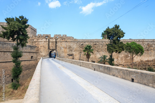 Walls of Kyrenia castle, Northern Cyprus