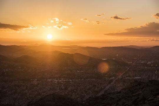 Simi Valley California Sunset 2
