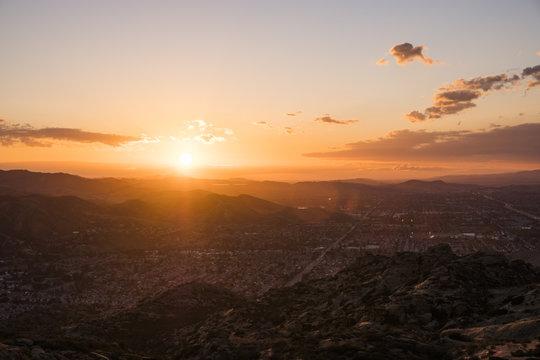 Simi Valley California Sunset